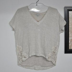 American Eagle Outfitters High Low Top Size Small